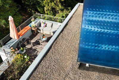 Solarthermie:Spitzentechnologie für Warmwasser und Heizungsunterstützung